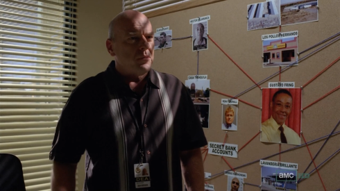 O agente e cunhado de Walter White, Hank Schrader, é um dos grandes destaques da série